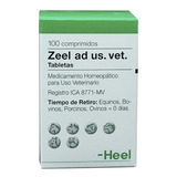 Homeopaticos Zeel Ad Us. Vet. Tabletas Frasco X 100 Comp. He