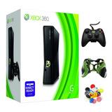 Xbox 360 5.0 +control Silicon J.grip Lista Para Kinect Usada