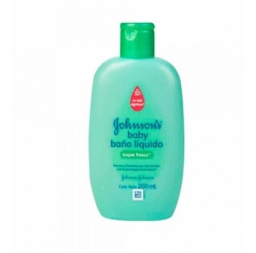 Baño Liquido Johnson's Baby Toque Fresco - L a $60