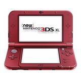 Consola Nintendo New 3ds Xl Roja Nueva Sellada