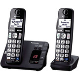 Teléfono Inalámbrico Panasonic Kx-tge232b, 2 Auriculares