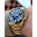 Reloj Rolex Submariner Dorado, Alta Calidad Garantizada
