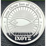 Moneda De Plata Cristo Salvador 1 Oz Pura