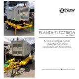 Alquiler De Planta Eléctrica De 75kva Para Eventos En Bogota