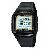 Reloj Casio Db 36 Goma Telememo Iluminaitor 100% Original