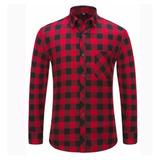 Camisa Leñadora Roja