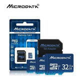 Memoria Micro Sd 32gb Clase 10 Microdata + Adaptador Y Obseq