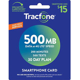 Tracfone Smartphone Only Airtime Service