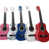 Guitarras Niños Hasta 6 Años+metodo Aprendizaje+forro+envio