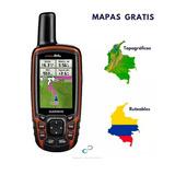 Gps Garmin Gpsmap 64s  Mapas Colombia Original Área Nuevo