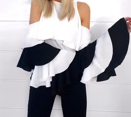 Blusas para mujer Limonni LI609 Campesinas