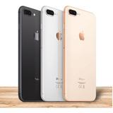 iPhone 8 Plus 64gb Negro Gold Silver Libre 4g 12 Mpx En Caja