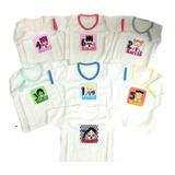 f4afba620 Set Semanario Super Bebe Niña 7 Camisetas Baby Monster Multi