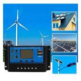 Panel Solar  Regulador Bateria 30a 12v