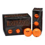 Pelota Bola De Golf Nitro Maximum Distance 12 Unidades