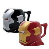 Mug - Taza Coleccionable Avengers Ironman Ceramica 450 Ml