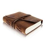 Cuaderno De Escritura De Diario De Cuero - Antiguo Bloc De