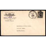 1923 Logia Masonica #67 Sobre Usa Missouri Antiguo 95 Años!!