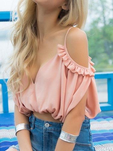 Blusas para mujer Limonni LI835 Tops