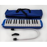 Melodica De 32 Teclas Piano Melodica Con Estuche Azul