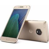 Celular Libre Motorola Moto G5 Plus Dorado Dual Sim 4g 32gb