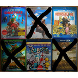 Peliculas Blu Ray 3d, Despicable Me, Robots, Hd 1080p