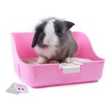 Mkono Conejo Jaula Basura Caja Potty Trainer Para Adultos