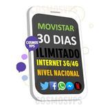 Internet Ilimitado Movistar - Pospago - 3g - 4g
