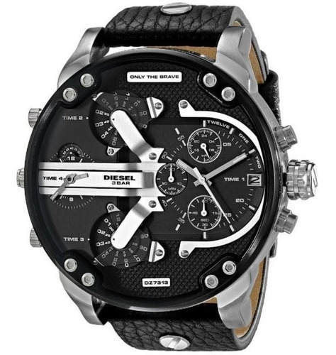 d13d06ac78c2 Reloj Diesel Hombre Dz7313 Nuevo Original Mr Daddy 2.0 Negro