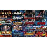 Universo Marvel Saga 23 Pelis Full Hd Bluray 1080p & 4k