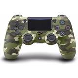 Control Ps4 Playstation 4 Nueva Generación Verde Camuflado
