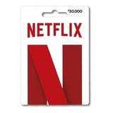 Tarjetas De Regalo 32 Dias Pin Virtual De Netflix $20.000
