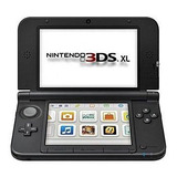 Nintendo 3ds Xl Negra Con Cargador