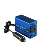 Foval 150w Coche Inversor 12v Dc A 110v Ac Convertidor Azul