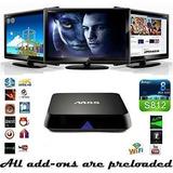 Tv Box M8s 2gb Ram 4k Ultra Hd Android Mini Pc Bluetooth