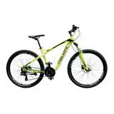 Bicicleta Corleone Aluminio Rin 27.5 Frenos Mecanicos 21 C