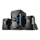 Parlantes Sistema De Audio 2.1 Visivo 50 Watts Alta Calidad