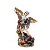 Arcangel Miguel Dorado 20cm Poliresina 530-77124 Religiozzi