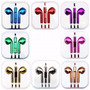 Audífonos Genéricos Colores Surtidos Metalizados
