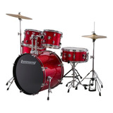Bateria Ludwig Accent Drive Lc175 Roja