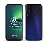 Moto G8 Plus 4gb 64gb Ds Garantia 1 Año Azul Nuevos