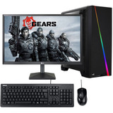 Pc Gamer Ryzen 5 8gb Ssd 250gb 600w Monitor 21.5 Fornite