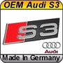 Emblema Logo S3 Audi Baul Metalico Made In Germany