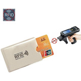 Protector Tarjeta De Crédito Y Rfid De Alta Calidad X 4 Und.