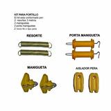Kit De Portillo Para Cerca Eléctrica; Dos Líneas
