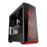 Caja Coolermaster Masterbox Lite 5 , Fuente 600wtt 80 Plus