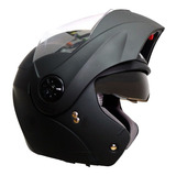 Casco Moto Abatible Certificado Ich Dot  Gratis Placas