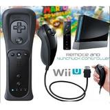 Control Remoto Wii /wii U+ Nunchuk + Silicona +correa Motion