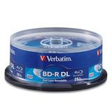 Verbatim Bd-r Dl 50gb 6x Con Superficie De Marca - 25pk H