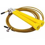 Cable Salto De Velocidad Acero Cross Fit Mma Boxeo Amarillo